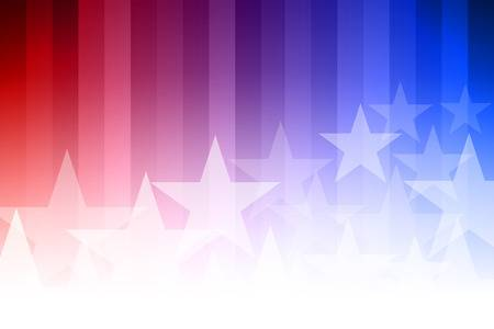 53293068 Vector Abstract Star Background Blue Red And White