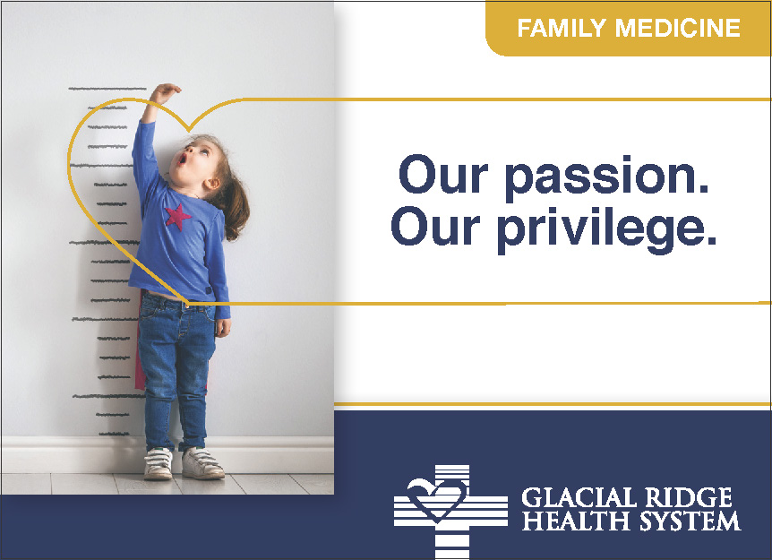 Glacial Ridge Health System - Display